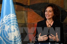 Cựu Bộ trưởng Văn hóa Pháp chính thức làm Tổng Giám đốc UNESCO
