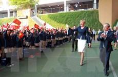 Phu nhân Tổng thống Ba Lan thăm Trường Marie Curie Hà Nội