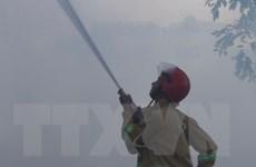 Cháy lớn ở KCN Nhơn Trạch, 4.000m2 nhà xưởng bị thiêu rụi