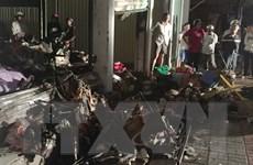 Chợ bốc cháy giữa đêm ở Cà Mau gây thiệt hại hơn 2,6 tỷ đồng