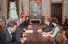 Bí thư Thành ủy TP. Hồ Chí Minh gặp Thứ trưởng Ngoại giao Hoa Kỳ