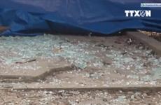 [Video] Cây rút tiền ATM của Viettinbank ở Nghệ An bất ngờ phát nổ