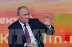 Tổng thống Nga khẳng định không tìm cách đối đầu với nước khác