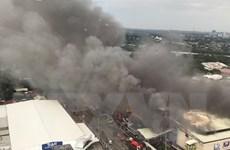 Không còn ai sống sót trong vụ cháy trung tâm thương mại ở Philippines