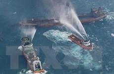 Vụ nổ mới trên tàu chở dầu Iran đang cản trở công tác cứu hộ