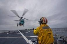 Hải quân Ukraine và Hải quân Mỹ tập trận chung tại Biển Đen