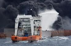 Tàu chở dầu Iran chìm tại Thượng Hải sau hơn 1 tuần bốc cháy
