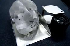 Phát hiện viên kim cương khổng lồ cực hiếm trị giá 40 triệu USD