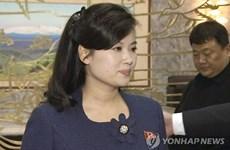 [Video] Trưởng nhóm nhạc nữ Moranbong của Triều Tiên sang Hàn Quốc