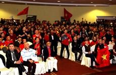 Cộng đồng người Việt ở nước ngoài nồng nhiệt hướng về U23 Việt Nam