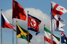 VĐV Triều Tiên tới Hàn Quốc tham dự Olympic PyeongChang 2018