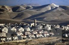 Israel hợp pháp hóa một khu định cư ở Bờ Tây bị chiếm đóng