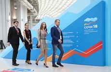 Diễn đàn Đầu tư Nga 2018 thu hút đông đảo nhà đầu tư nước ngoài