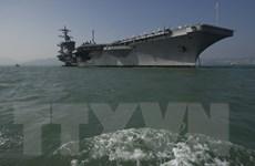 Mỹ khẳng định tàu USS Carl Vinson mang lại sự ổn định cho Biển Đông
