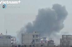 [Video] 100 quả tên lửa đã dội xuống Đông Ghouta của Syria