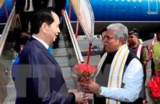 Chủ tịch nước bắt đầu chuyến thăm cấp Nhà nước tới Cộng hòa Ấn Độ