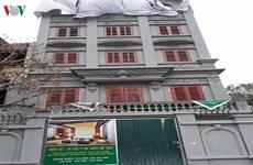 Giám sát dỡ công trình vi phạm của gia đình bị can Nguyễn Thanh Hóa