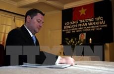 Thương mại Anh-Việt cất cánh dưới thời của Thủ tướng Phan Văn Khải