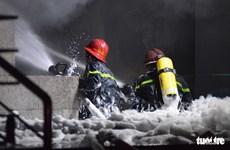 TP. HCM: Cháy chung cư cao cấp Carina Plaza, 13 người tử vong
