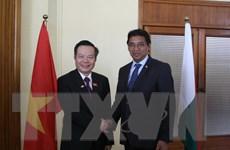 Mốc son mới trong quan hệ hợp tác truyền thống Việt Nam-Madagascar