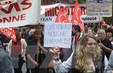 """Nước Pháp đối mặt """"Thứ Ba đen tối"""" với cuộc đình công quy mô lớn"""