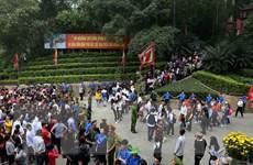 """Ban tổ chức Lễ hội Đền Hùng cam kết không để xảy ra nạn """"chặt chém"""""""