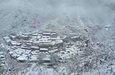 Trung Quốc: Tuyết rơi bất thường ở Bắc Kinh và Nội Mông
