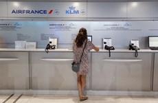 Air France hủy hàng trăm chuyến bay do đình công đòi tăng lương