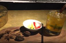 [Video] Độc đáo món cocktail nổi tiếng với hương vị... phở Việt