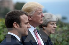 Mỹ-Anh-Pháp tấn công Syria từ các căn cứ quân sự ở Trung Đông