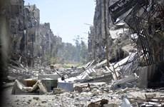 Lực lượng Syria nã pháo vào vị trí của IS ở thủ đô Damascus