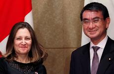 Canada và Nhật Bản ký thỏa thuận tương trợ quốc phòng