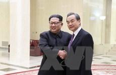 """Lãnh đạo Triều Tiên bàn luận """"sâu và rộng"""" với Ngoại trưởng Trung Quốc"""