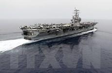 Hải quân Mỹ bắt đầu chiến dịch không kích các mục tiêu IS tại Syria