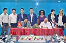 Việt Nam-Cuba tăng cường hợp tác trong lĩnh vực xuất bản