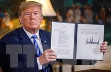 Mỹ gây sức ép, nói các công ty châu Âu 'có vài tháng' để rời khỏi Iran