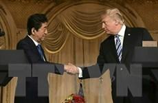 Lãnh đạo Mỹ, Nhật Bản điện đàm về cuộc gặp thượng đỉnh Mỹ-Triều Tiên