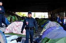 Pháp giải tỏa khu trại tạm cho người tị nạn lớn nhất thủ đô Paris