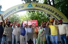 Nhân viên ngân hàng khắp Ấn Độ đình công vì nợ xấu của chính phủ