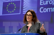 EU sẵn sàng thảo luận với Mỹ đề giải quyết tranh cãi thương mại