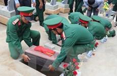 Đồng Nai: Phát hiện, cất bốc nhiều hài cốt liệt sỹ tại huyện Tân Phú