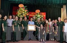 Hải Dương vinh danh Anh hùng lực lượng vũ trang Vũ Đình Thước
