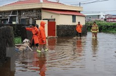 Hàng loạt các nước châu Á bị thiệt hại nặng nề do mưa lũ kéo dài
