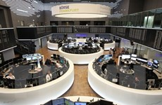 Thị trường chứng khoán Âu-Mỹ khởi sắc trong phiên giao dịch 5/7