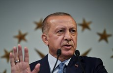Tổng thống Thổ Nhĩ Kỳ Erdogan tuyên thệ nhậm chức nhiệm kỳ mới