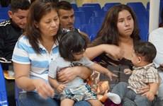 Mỹ-Mexico cam kết đoàn tụ sớm nhất các gia đình nhập cư trái phép