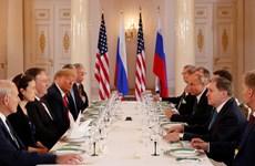 Thượng đỉnh Nga-Mỹ: Lãnh đạo Mỹ-Nga bắt đầu bữa trưa làm việc