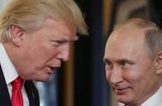Tổng thống Nga Vladimir Putin đến Dinh Tổng thống Phần Lan