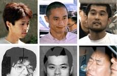 Nhật Bản xử tử 6 thành viên giáo phái AUM Shinrikyo rải chất độc