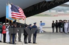 Mỹ xem xét cử quân nhân tới Triều Tiên để tìm kiếm hài cốt binh sỹ